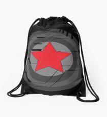 Winter Soldier Shield Drawstring Bag
