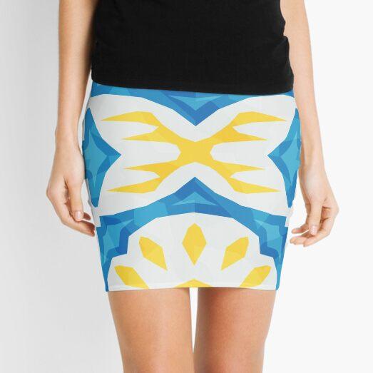 White Glazed Terracotta - PureBDcraft Mini Skirt