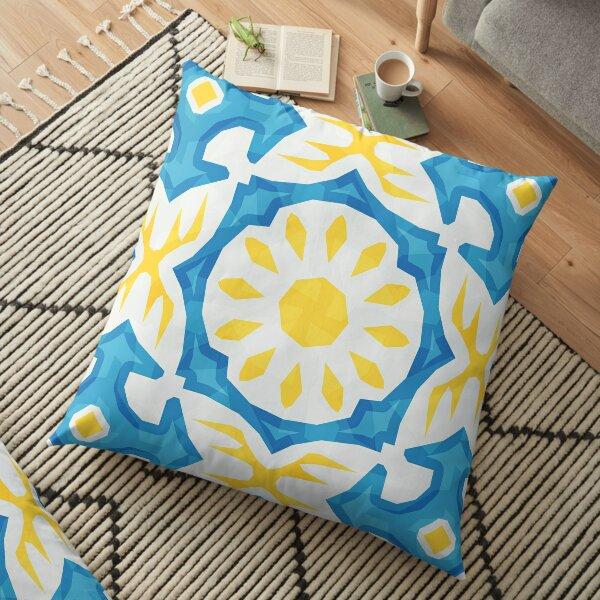 White Glazed Terracotta - PureBDcraft Floor Pillow