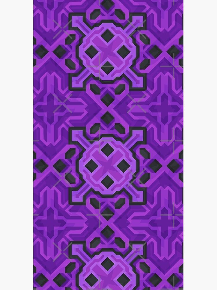Purple Glazed Terracotta - PureBDcraft by BDcraft