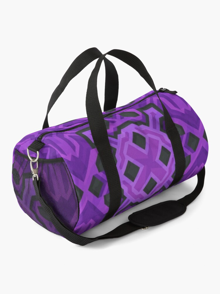 Alternate view of Purple Glazed Terracotta - PureBDcraft Duffle Bag