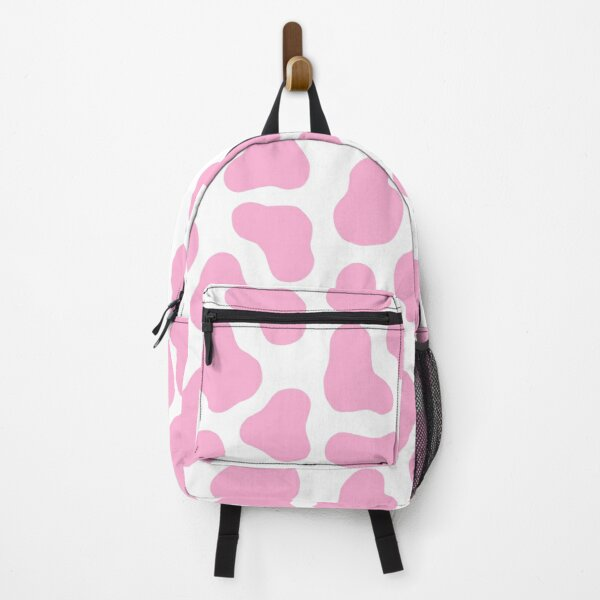 pink cow pattern Backpack