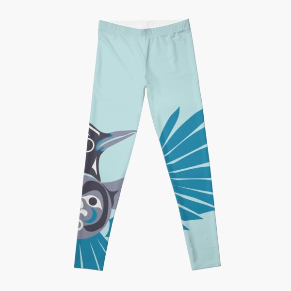 Steller's jay Leggings
