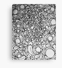 Growing, Flowing Canvas Print