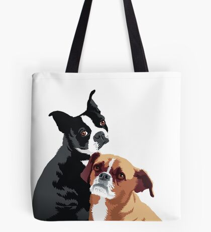Tuppence and Pepper Tote Bag