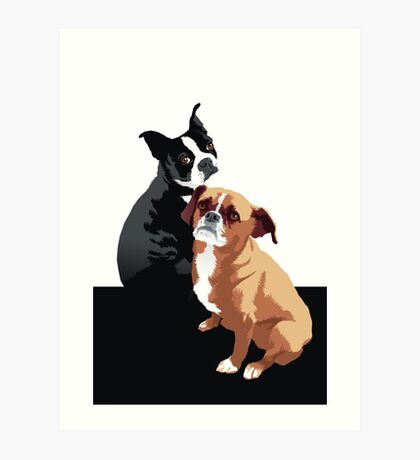Tuppence and Pepper Art Print