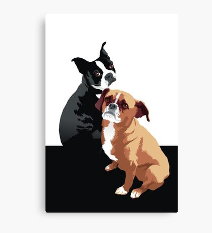 Tuppence and Pepper Canvas Print