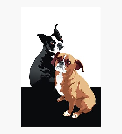 Tuppence and Pepper Photographic Print