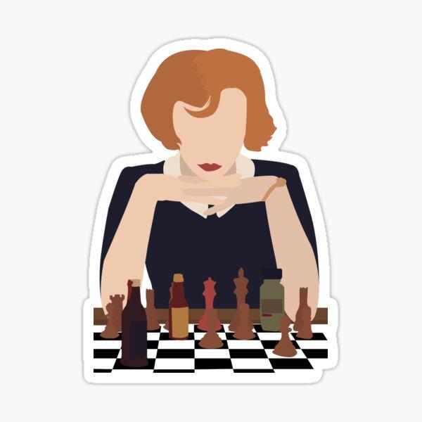 The Queens Gambit Sticker