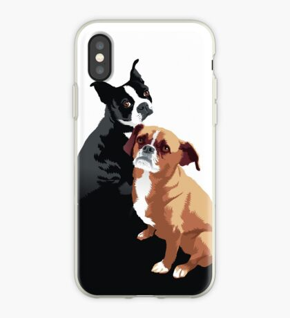 Tuppence and Pepper iPhone Case