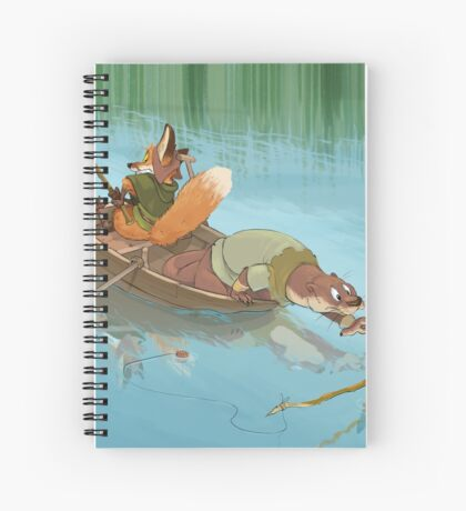 River Critters Spiral Notebook