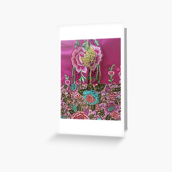 Kebaya Greeting Card