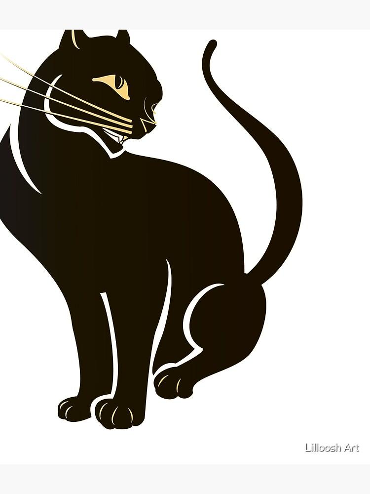 Dark Golden Cat by Avihaybi