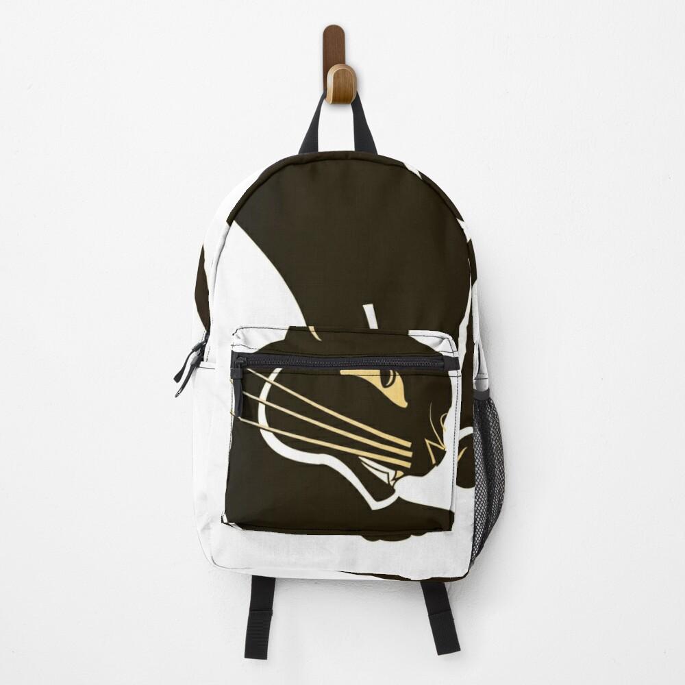 Dark Golden Cat Backpack