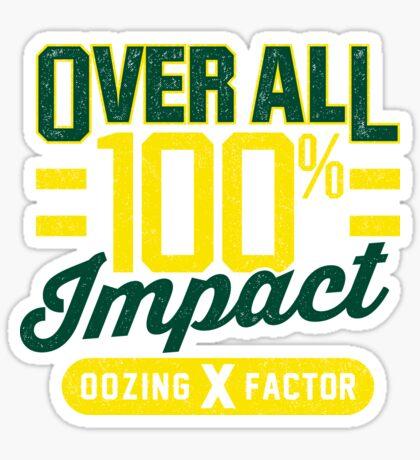 Overall Impact Sticker