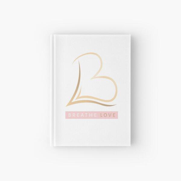 Breathe Love Logo Merch Hardcover Journal