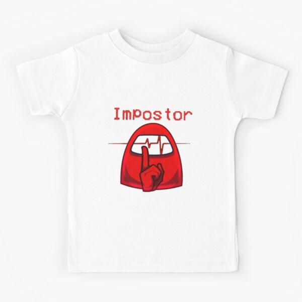 among us impostor  Kids T-Shirt