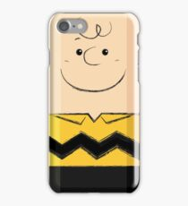 Charlie Brown (fanart) iPhone Case/Skin