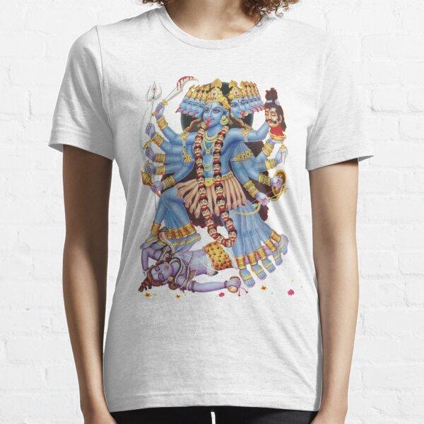 Kali, Kalika or Shyama Hindu Goddess Essential T-Shirt