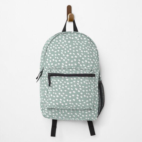 Sage Dots Backpack