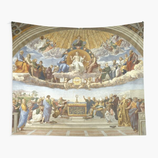 Disputation of the Holy Sacrament - Raphael - (La Disputa) Tapestry