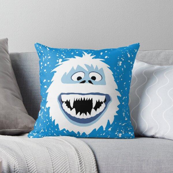 Bumble Face Throw Pillow