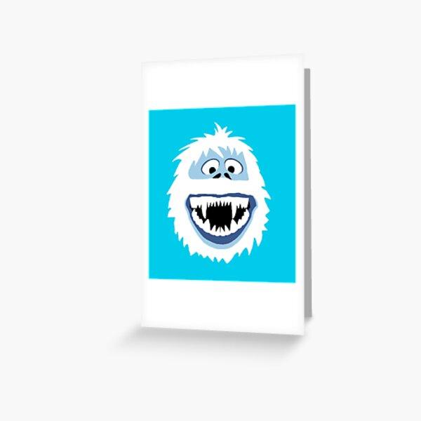 Bumble Face Greeting Card