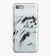 Antarctic Mountain Range iPhone Case/Skin