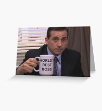 The Office  Greeting Card