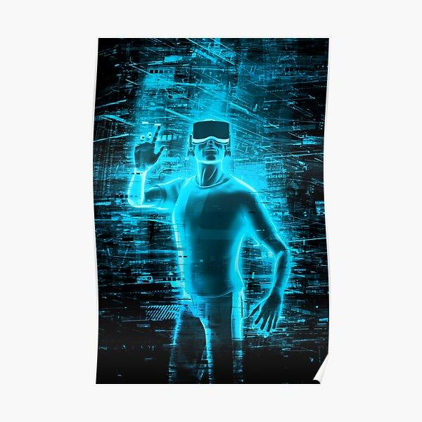 Virtual Reality User Poster