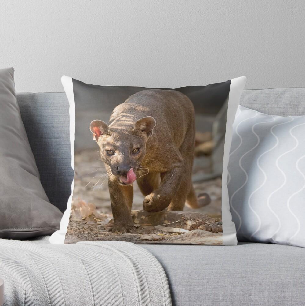 Prowling fossa Throw Pillow