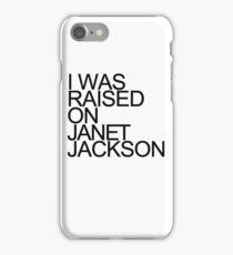 Born & Raised - Black iPhone Case/Skin