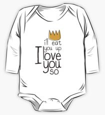 I'LL EAT YOU UP I LOVE YOU SO Kids Clothes
