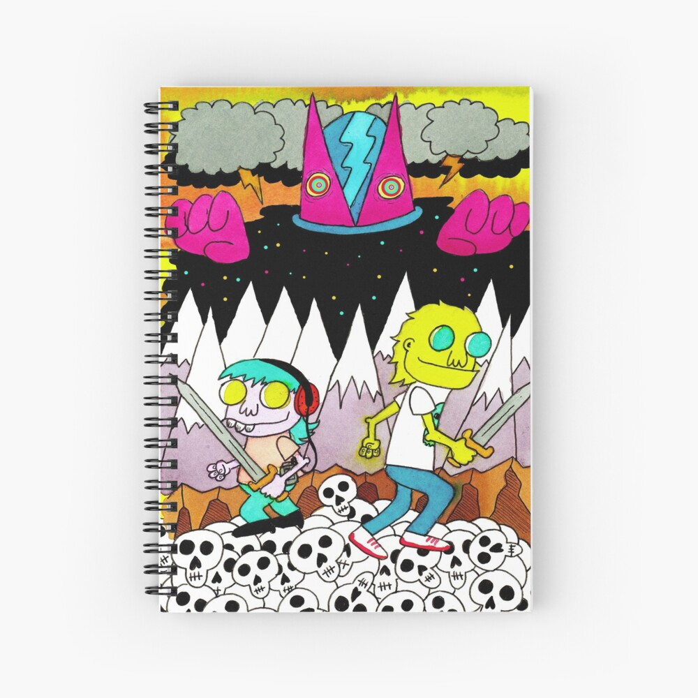 Mars 2085 Spiral Notebook