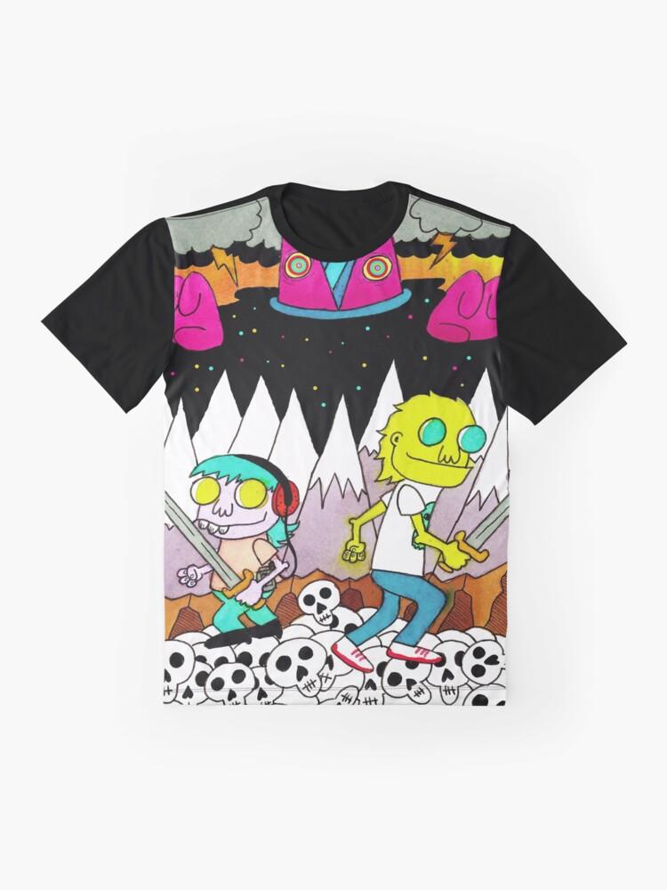 Alternate view of Mars 2085 Graphic T-Shirt
