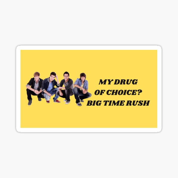 Big Time Rush Bumper Sticker Sticker
