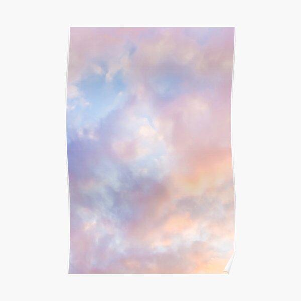 Ciel rose Poster
