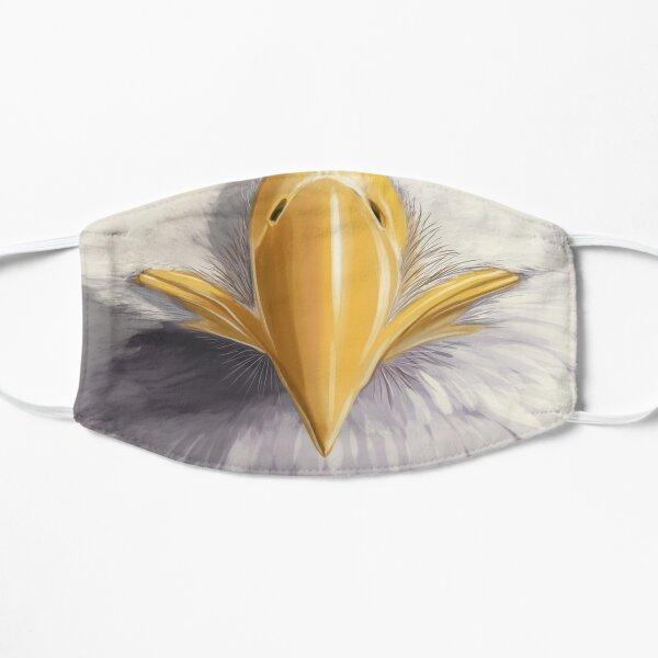Baldiest of Eagles Bald Eagle Face Mask Flat Mask