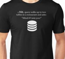 SQL Query Funny Unisex T-Shirt