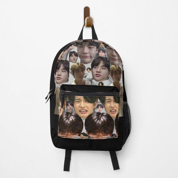 Hyunjin Stray Kids meme Backpack