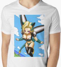 Cell 18 Mens V-Neck T-Shirt