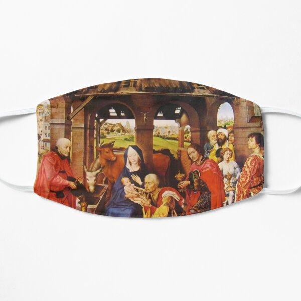 Flemish Painting And Oil Colors Rogier Van Der Weyden. Pittura Fiamminga E I Colori A Olio Rogier Van Der Weyden Flat Mask