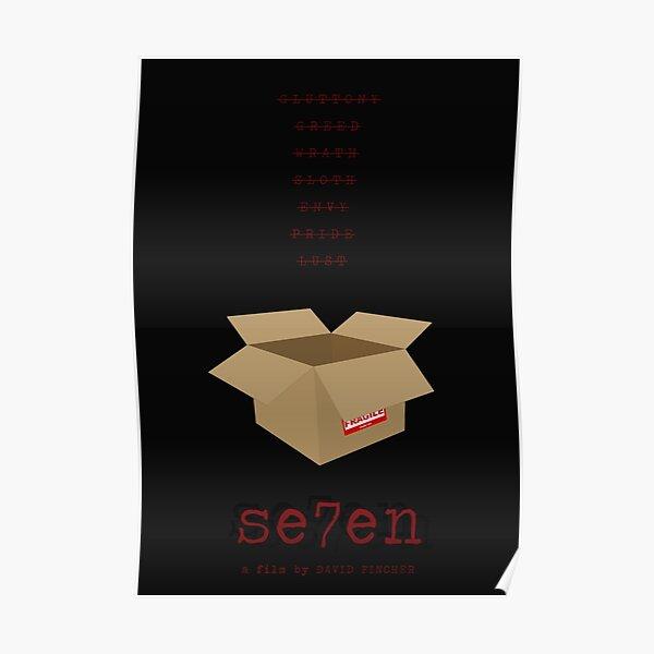 Se7en film poster Poster