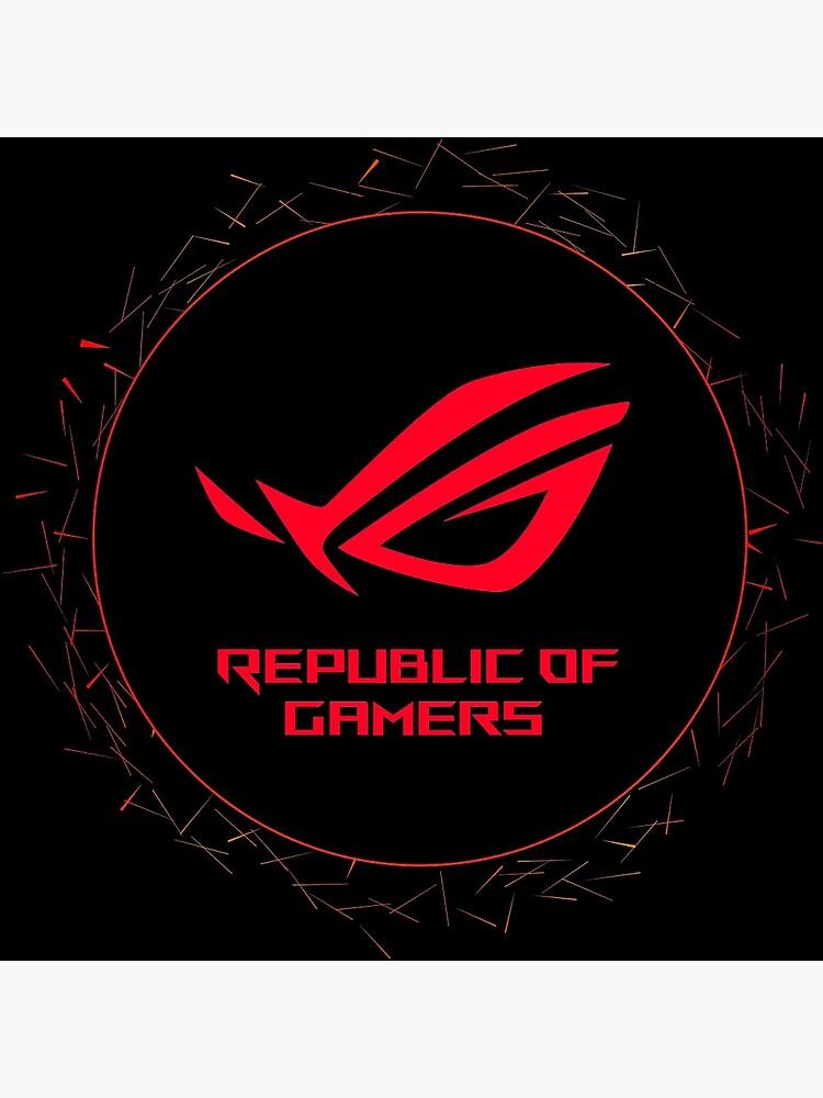Republic of Gamers - Asus Rog Strix Logotipe by ArtxcL