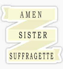 Amen Schwester (Bandversion) Sticker