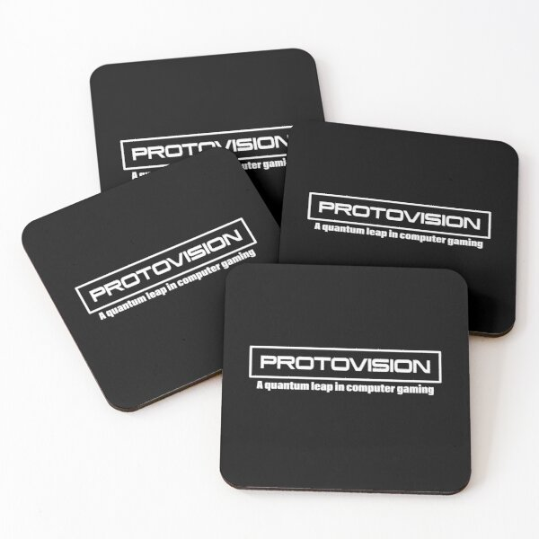 War Games | Protovision Computer Gaming Classic 80's Movie Coasters (Set of 4)