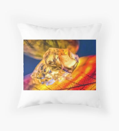 Veins of Distant Eyes Throw Pillow