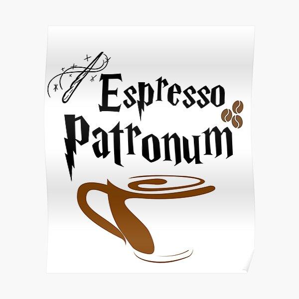 Espresso Magic Spell Poster