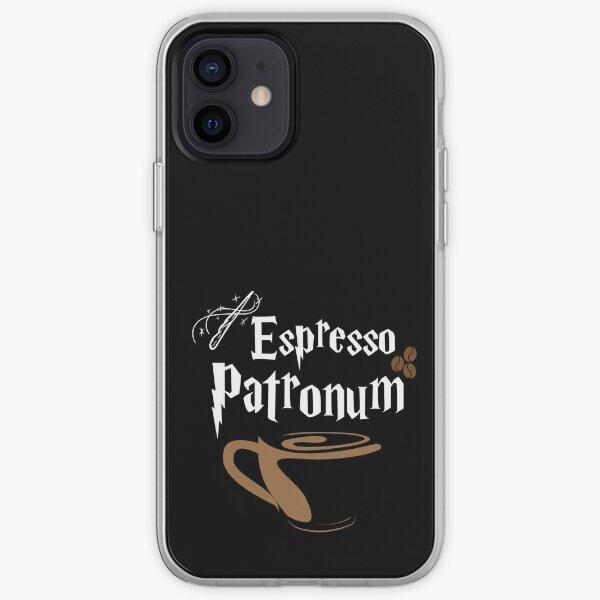 Hechizo mágico de espresso Funda blanda para iPhone
