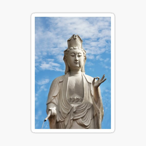 Kuan Yin, Mercy & Compassion  Sticker